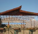 اجرای سقف شیروانی-اجرای سقف آردواز-پوشش سقف سوله-خرپا-تعمیرات-09121431941