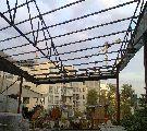 اجرای سقف-اجرای پوشش سقف-سقف شیبدار-سقف سوله-اجرای ساخت خرپا-شیروانی-آردواز-تعمیرات (09121431941)