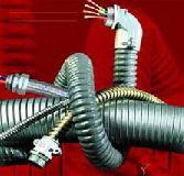 لوله فلکسیبل فلزی روکش دار وگلند فلکسیبل