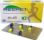 قرص لاغری ریداکت Redact بدون عوارض جانبی