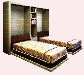 تختخواب تاشو|تخت خواب تاشو دیواری|بهین جا|09126183871
