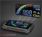 جدیدترین دستگاه هد آپ دیسپلی خودرو /دستگاه نمایشگر اطلاعات خودرو روی شیشه
