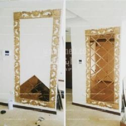 تولید کننده آینه دکوراتیو آبگینه
