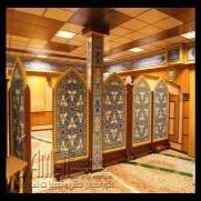 ساخت منبر مسجد منبر یک پله و منبر چوبی