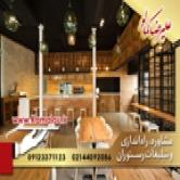 دیزاین رستوران با مشاوره علیرضا کمالو با جدید ترین متد های روز دنیا
