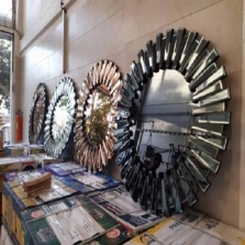 آینه دکوراتیو خورشیدی ، آینه زایگون خورشیدی